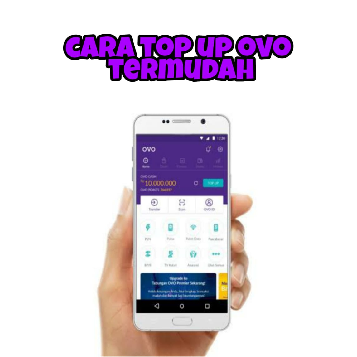 cara-top-up-saldo-ovo-termudah